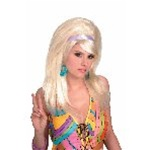 1960s Blonde Go-Go Wig