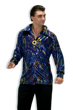 Mens Disco Adult Shirt