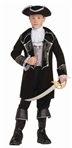Child Pirate Swashbuckler Costume - Captain