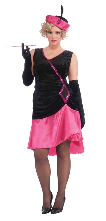 Penny Pink - Plus Size Flapper