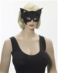 Half Mask Glasses - Black Cat
