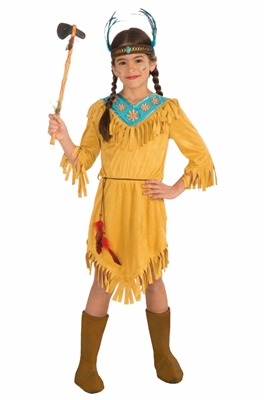 Child Little Flower Native American Costume
