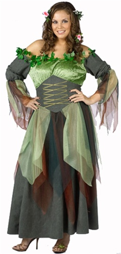 Plus Size Mother Nature Adult Womens Costume