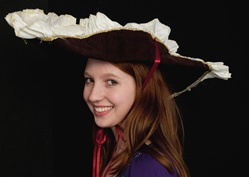 Fancy Pirate Brown Hat