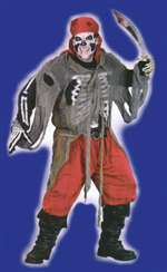 Adult Buccaneer Bones Mens Costume