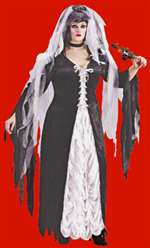 Plus Size Bride of Darkness Adult Costume