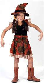 Child Lil Scarecrow Girls Costume