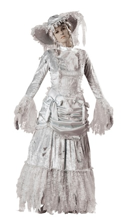 Deluxe Women's Ghost Costume