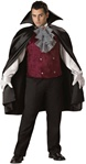 Deluxe Big and Tall Vampire Costume