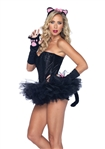 Sexy Black Kitty Costume Kit