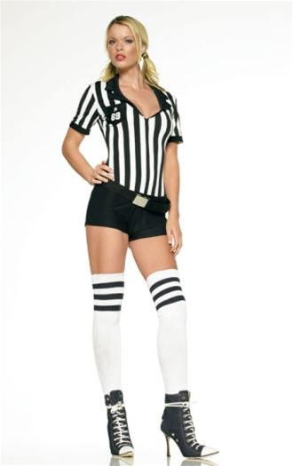 Sexy referee costumes for women