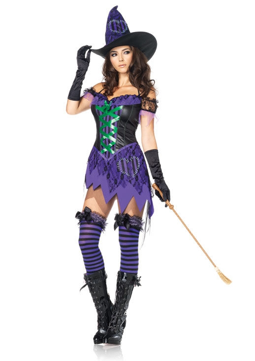 Alternative Views  sc 1 st  SpookShop & Leg Avenue Witch Costumes