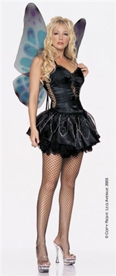 Sexy Dark Fairy Costume