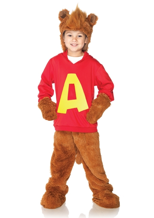 Child Alvin And The Chipmunks Costume