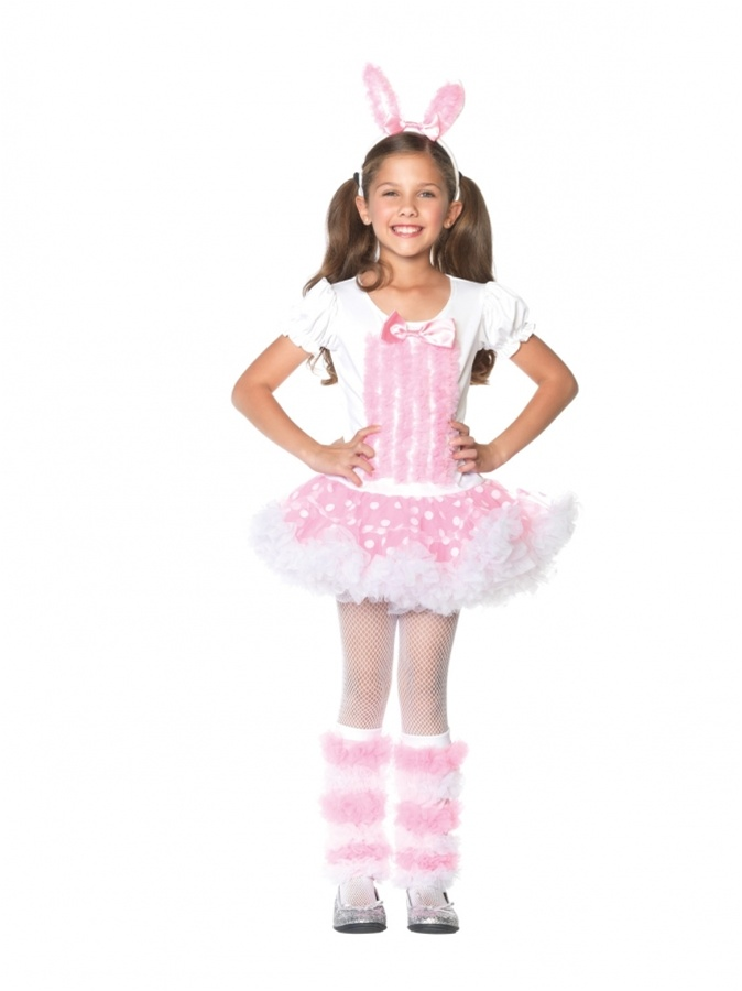 Kids Bunny Costume Girls