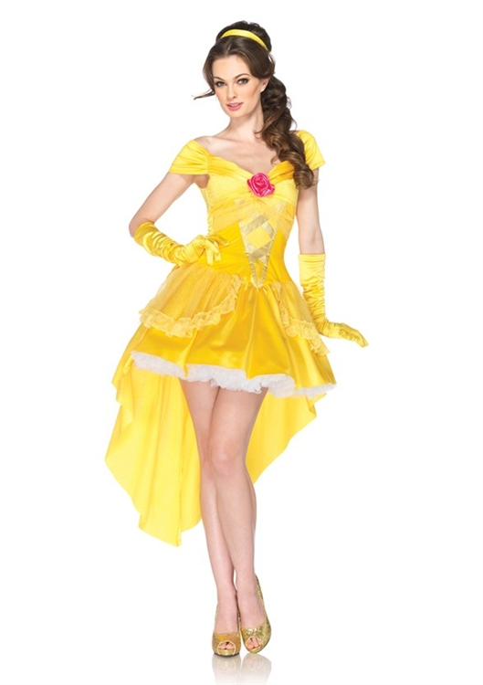 Sexy princess belle beauty and the beast you