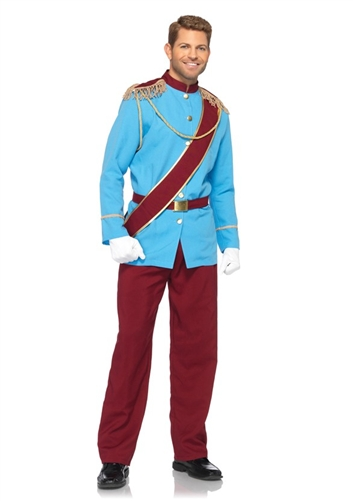 Disney Men's Prince Charming Costume
