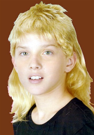 Mullet Wig - Child 8177cafcd