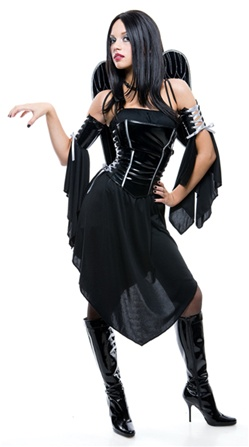 Midnight Angel Girls Costume