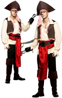 Adult Sized Jolly Roger Costume