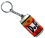 The Simpsons Duff Beer Key Chain