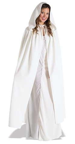 Arwen Adult White Cloak
