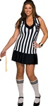 Referee Girl Foul Play - Plus Size Adult