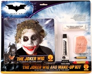 Deluxe Makeup Kit and Wig - The Joker