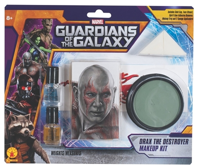 Guardians of the Galaxy Drax Make-up