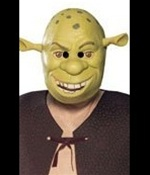 Shrek Halloween Mask - Kids