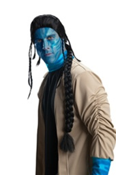 Licensed Jake Sully Avatar Costume Wig
