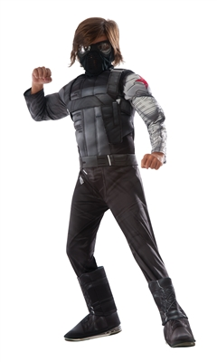 Deluxe Kids Winter Soldier Costume