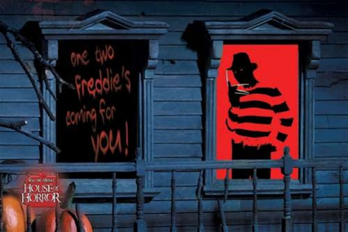 horror movie decorations freddy halloween costume - Freddy Krueger Halloween Decorations
