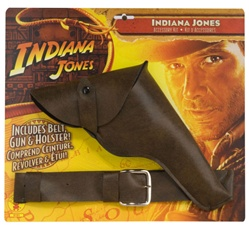 Indiana Jones Movie Belt, Gun and Holster