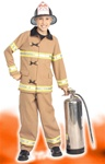 Firefighter Toddler Costume