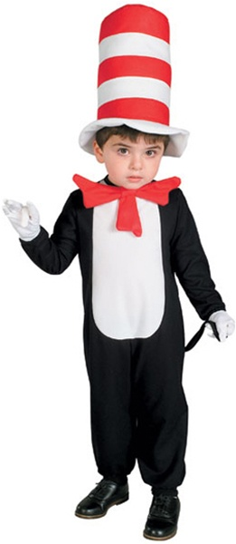 sc 1 st  SpookShop & Baby Cat in the Hat Costume - INFANT