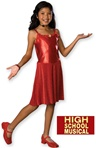 Girls Deluxe Gabriella Costume - High School Musical