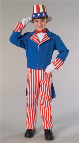 Child Sized Uncle Sam Costume