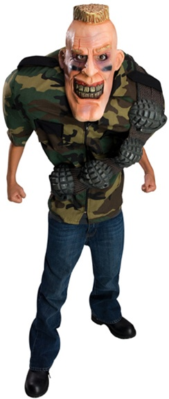 Kids Big Bruizers Corporal Punishment Costume