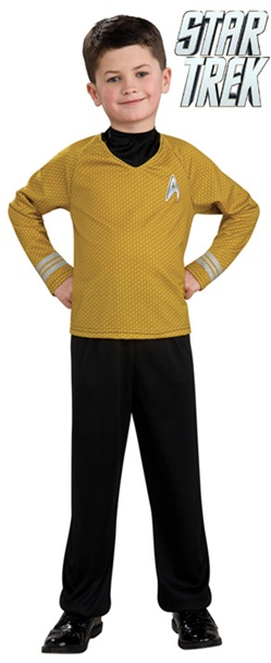 Kids Star Trek Movie Captain Kirk Costume