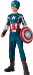 Boy's Retro Captain America Costume