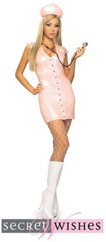 Sexy Pink Nurse Adult Costume