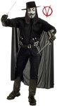 V for Vendetta Costume - Adult