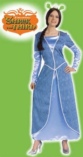 Adult Deluxe Princess Fiona Costume  sc 1 st  SpookShop & Deluxe Princess Fiona Costume