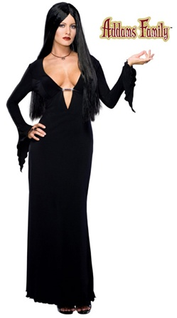 Sexy Morticia Addams Adult Costume