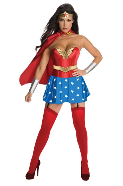 Sexy Wonder Woman Superhero Costume