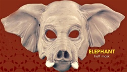Half Mask Elephant - Adult