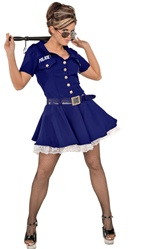 Sexy Police Officer Adult Costume - Arresting
