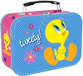 Officially Licensed Tweety Bird Large Tin Tote