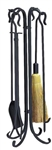 UniFlame 5pc Olde World Iron Fireset